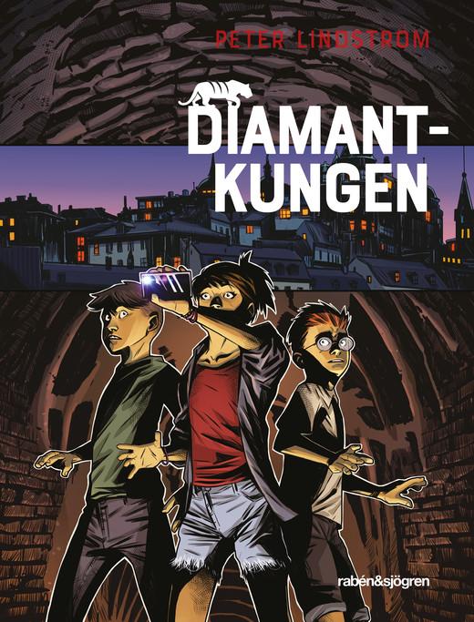 Diamantkungen, De tre tigrarna (del 1), köp barnbok, barndeckare, barnböcker